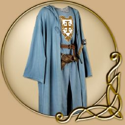 Costume - Light Blue Robe with Hood